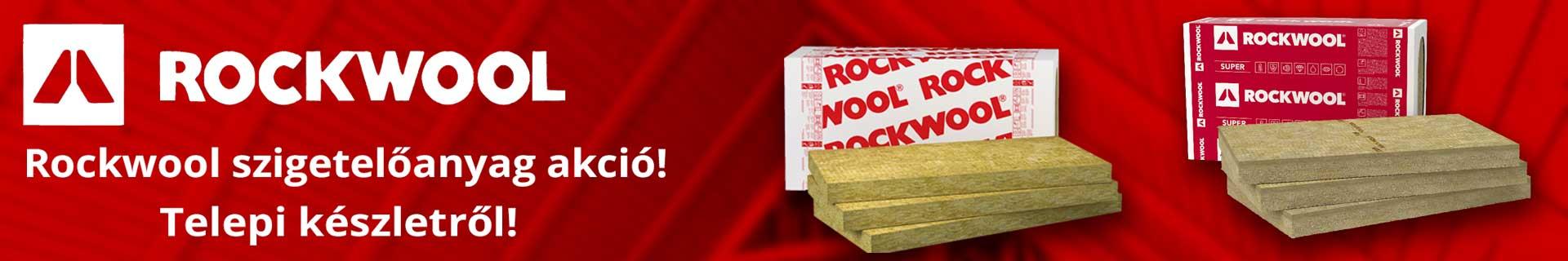 Rockwool kőzetgyapot árak